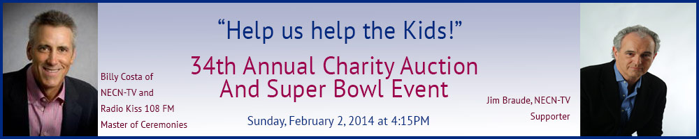 Annual Super Bowl Charity Auction